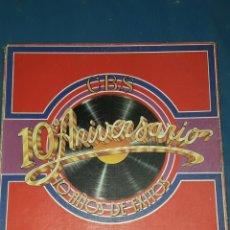 Discos de vinilo: 10° ANIVERSARIO 10 AÑOS DE EXITOS 1979. Lote 119377940