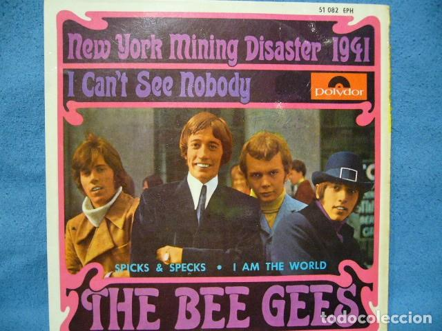 THE BEE GEES NEW YORK MINING DISASTER 1941. EP 1967 EXCELENTE POLIDOR 51082EPH (Música - Discos de Vinilo - EPs - Pop - Rock Extranjero de los 70	)