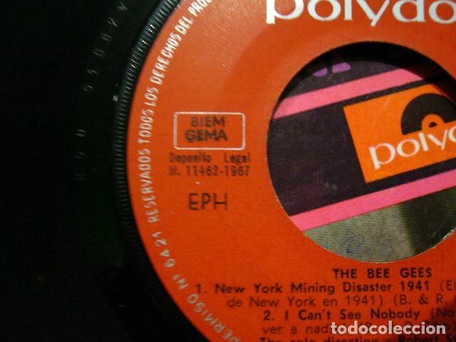 Discos de vinilo: THE BEE GEES NEW YORK MINING DISASTER 1941. EP 1967 EXCELENTE POLIDOR 51082EPH - Foto 8 - 119385579