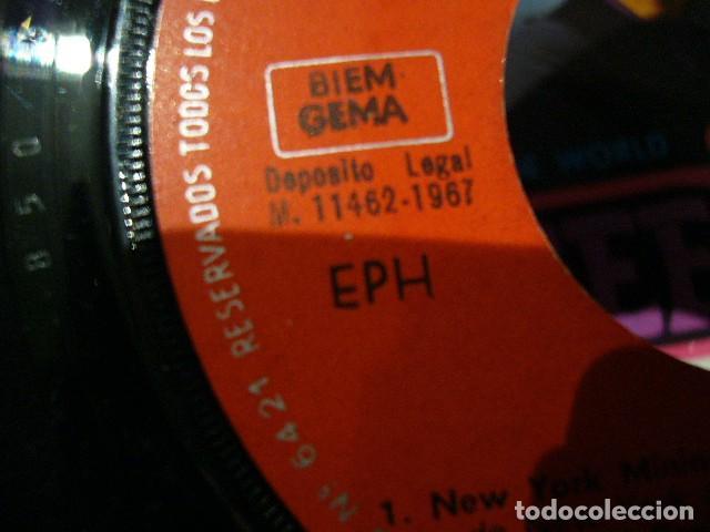 Discos de vinilo: THE BEE GEES NEW YORK MINING DISASTER 1941. EP 1967 EXCELENTE POLIDOR 51082EPH - Foto 9 - 119385579