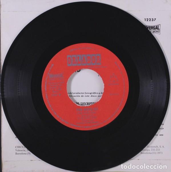 Discos de vinilo: THE HOLLIES LONG COOL WOMAN EP 1973. CIRCULO DE LECTORES ORLADOR 12237 - Foto 3 - 119385991