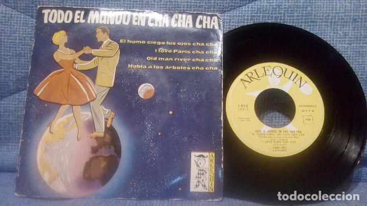 TODO EL MUNDO EN CHA CHA CHA - EXTRAORDINARIO EP DEL SELLO ARLEQUIN AÑO 1959 EXCELENTE ESTADO (Música - Discos de Vinilo - EPs - Orquestas)