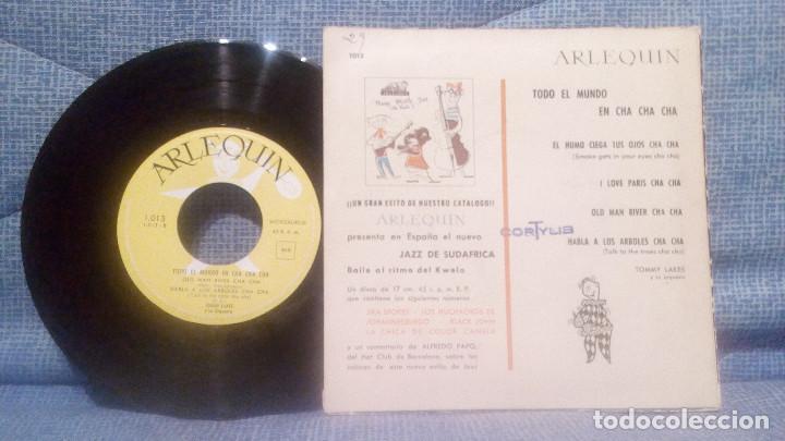 Discos de vinilo: TODO EL MUNDO EN CHA CHA CHA - EXTRAORDINARIO EP DEL SELLO ARLEQUIN AÑO 1959 EXCELENTE ESTADO - Foto 2 - 119388719