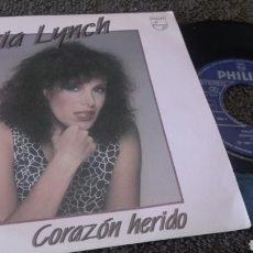 Discos de vinilo: DISCO VINILO SINGLE VALERIA LYNCH. Lote 119416056
