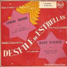 Discos de vinilo: EP-DESFILE DE ESTRELLAS VAUGHN MONROE/RALPH FLANAGAN RCA 3 20113 SPAIN 195??. Lote 119423263