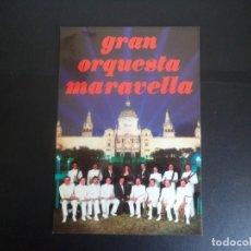 Discos de vinilo: POSTAL GRAN ORQUESTA MARAVELLA. Lote 119425215