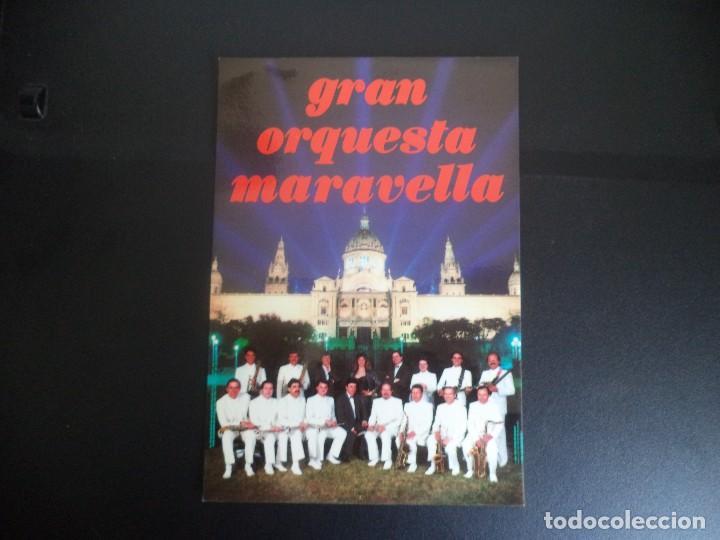 POSTAL GRAN ORQUESTA MARAVELLA (Música - Discos de Vinilo - Maxi Singles - Orquestas)
