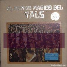 Discos de vinilo: VINILO DEL MUNDO MAGICO DEL VALLS, CON LA ORQUESTA DEL ESTADO DE VIENA (9 VINILOS). Lote 119432027