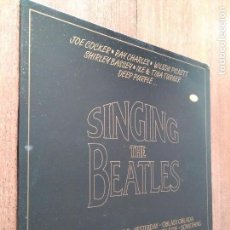 Discos de vinilo: LP SINGING THE BEATLES. Lote 119436383