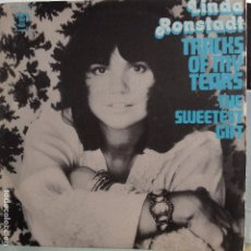 Discos de vinilo: LINDA RONSTADT - TRACKS OF MY TEARS / THE SWEETEST GIFT - NUEVO ESPAÑOL. Lote 100165271