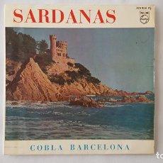 Discos de vinilo: EP - COBLA DE BARCELONA / SARDANAS - LA SANTA ESPINA +3 - PHILIPS 433 838 PE - 1962. Lote 119452575