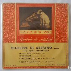 Discos de vinilo: EP - GIUSEPPE DI STEFANO - O SOLE MIO +3 - LA VOZ DE SU AMO 7ERL 1.068 . Lote 119459023