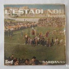 Discos de vinilo: EP - COBLA MARAVELLA / SARDANAS - L'ESTADI NOU +3 - SAEF SF-2006 - 1959. Lote 119461759