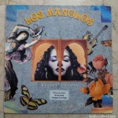 Discos de vinilo: LP LOS MANOLOS - PASIÓN CONDAL - RCA 1991.. Lote 119464155
