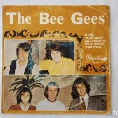 Discos de vinilo: EP - THE BEE GEES - WORLD +3 - PERGOLA 10 171 - 1970 - EDICION ESPECIAL PARA CIRCULO DE LECTORES. Lote 119490507