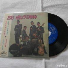 Discos de vinilo: LOS MUSTANG 7 EP HULLY GULLY + 3 TEMAS (1963). Lote 119496207