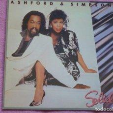 Discos de vinilo: ASHFORD & SIMPSON,SOLID EDICION ESPAÑOLA DEL 85. Lote 221742465