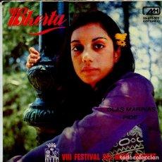 Discos de vinil: BHERTA / OLAS MARINAS / PIDE (VIII FESTIVAL DEL MIÑO ORENSE (SINGLE 1972). Lote 119515451