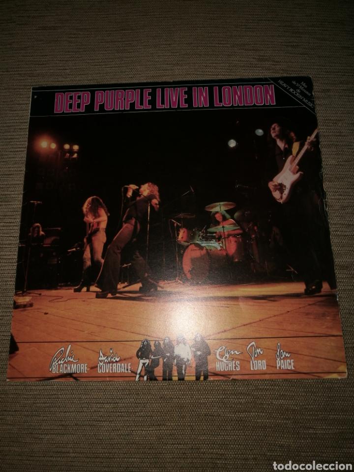 DEEP PURPLE LIVE IN LONDON 1982 ..CON DAVID COVERDALE . (Música - Discos - LP Vinilo - Heavy - Metal)