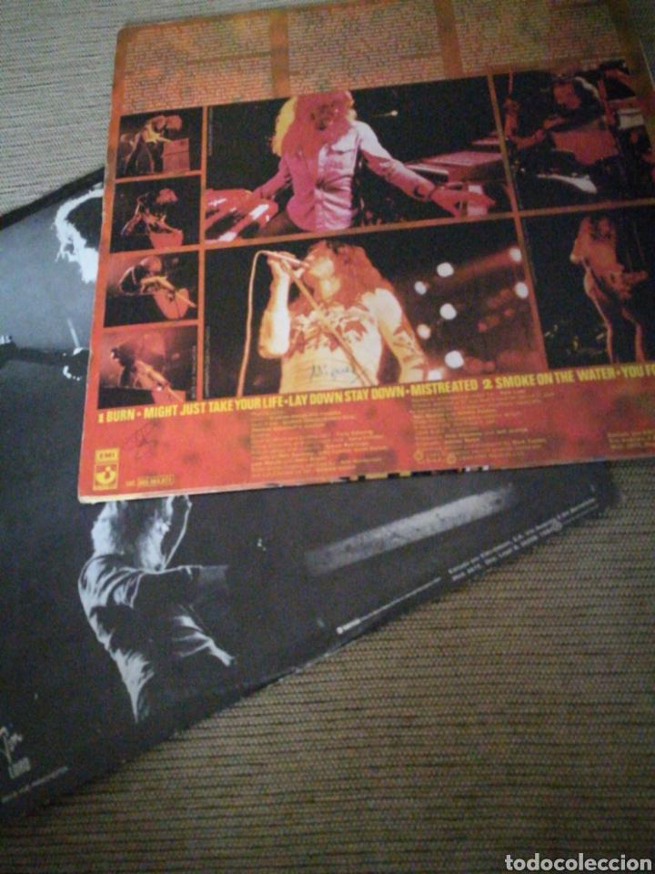 Discos de vinilo: DEEP PURPLE LIVE IN LONDON 1982 ..con DAVID COVERDALE . - Foto 3 - 119523060