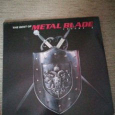 Discos de vinilo: METAL BLADE RECORDS VOLUME 3 .ANVIL,SLAYER,DIAMON HEAD,LIZZY BORDEN,CANDLEMASS...(1984-1988)2LPS. Lote 119524667
