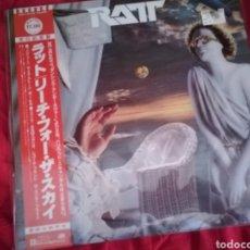 Discos de vinilo: LP HEAVY JAPONÉS DE RATT - REACH FOR THE SKY. Lote 119537435