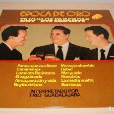 Discos de vinilo: TRIO GUADALAJARA. ÉPOCA DE ORO TRIO LOS PANCHOS. OLYMPO, 1977. ESPAÑA. LP. Lote 119550723
