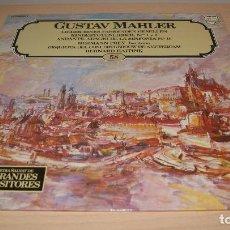 Discos de vinilo: LP GUSTAV MAHLER Nº 58 - ENCICLOPEDIA SALVAT DE LOS GRANDES COMPOSITORES - PHILIPS 1982.. Lote 119552715