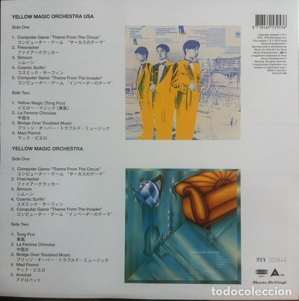 Discos de vinilo: YMO USA & Yellow Magic Orchestra * 2LP 180g. audiophile vinyl* Portada Gatefold * Folders *Funda PVC - Foto 19 - 174866914