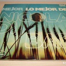 Discos de vinilo: LO MEJOR DE NICOLA DI BARI - ESPAÑOL 1975 - 2 LPS. Lote 119556883