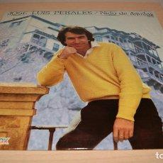 Discos de vinilo: JOSE LUIS PERALES / NIDO DE ÁGUILAS (LP HISPAVOX DE 1981). Lote 119562843