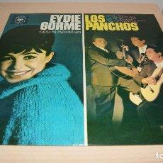 Discos de vinilo: EYDIE GORME Y LOS PANCHOS - EYDIE GORME CANTA EN ESPAÑOL CON LOS PANCHOS (LP). Lote 119563335