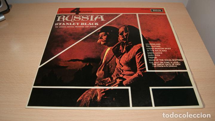 STANLEY BLACK THE LONDON FESTIVAL ORCHESTRA AND CHORUS - RUSSIA- DECCA (Música - Discos - LP Vinilo - Orquestas)