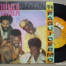 Discos de vinilo: GUINEA - SOMOS LOS CONGUITOS / PAQUIDERMO - SINGLE CBS 1982. Lote 119567055