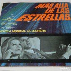 Disques de vinyle: LP TAMAÑO 10 PULGADAS - NOVELA MUSICAL LA LECHERA - MÁS ALLÁ DE LAS ESTRELLAS - JOAQUÍN PRAT. Lote 119570283