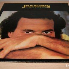 Discos de vinilo: JULIO IGLESIAS LP- MOMENTOS - PORTADA DOBLE CON LETRA DE CANCIONES - CBS 1982. Lote 119587111