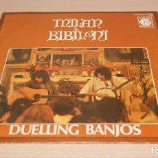 Discos de vinilo: MILAN & BIBILONI, DUELLING BANJOS + ANGIE (NOVOLA 1976) SINGLE - JOAN. Lote 119587807