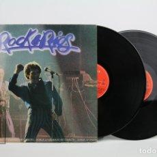 Discos de vinilo: DOBLE DISCO LP DE VINILO - MIGUEL RIOS / ROCK & RIOS - POLYDOR - AÑO 1982. Lote 119601258