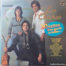 Discos de vinilo: LOS CHICHOS: 20 ÉXITOS PARA QUE TU LO BAILES... . Lote 119609827