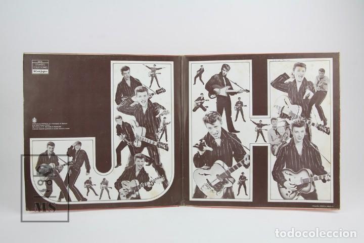 Discos de vinilo: Doble Disco Lp De Vinilo - Johnny Hallyday / Disco de Oro - Vogue - Año 1978 - Foto 3 - 119611027