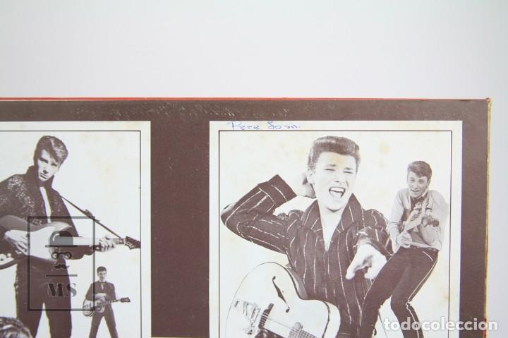 Discos de vinilo: Doble Disco Lp De Vinilo - Johnny Hallyday / Disco de Oro - Vogue - Año 1978 - Foto 4 - 119611027