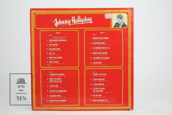 Discos de vinilo: Doble Disco Lp De Vinilo - Johnny Hallyday / Disco de Oro - Vogue - Año 1978 - Foto 5 - 119611027