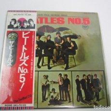 Discos de vinilo: LP JAPONÉS DE THE BEATLES - Nº5. Lote 119627955