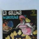 Discos de vinilo: LA GALLINA MARCELINA DISCO CUENTO. Lote 119633918