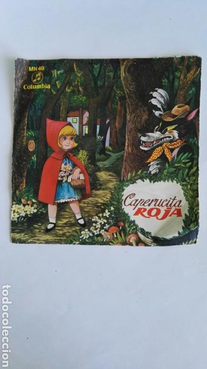 CAPERUCITA ROJA DISCO CUENTO (Música - Discos - LPs Vinilo - Música Infantil)