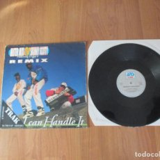 Discos de vinilo: MISTER MIXI & SKINNY SCOTTY FEAT DIZZY D - I CAN HANDLE IT - MAXI - BELGIUM - ARS PRODUCTIONS - IBL . Lote 119682587