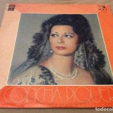 Discos de vinilo: CONCHA PIQUER. LA OBRA DE CONCHA PIQUER VOL. II. EMI REGAL 1975.. Lote 119699803