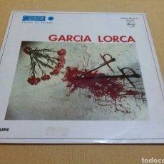 Discos de vinilo: GARCIA LORCA - VERSOS DE ESPAÑA. Lote 119700167