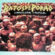 Discos de vinilo: LP RATOS DE PORAO - CARNICERIA TROPICAL. Lote 119704867