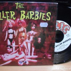 Discos de vinilo: THE KILLER BARBIES LOVE KILLER + 1 EP SPAIN 1994 PEPETO TOP. Lote 119716615